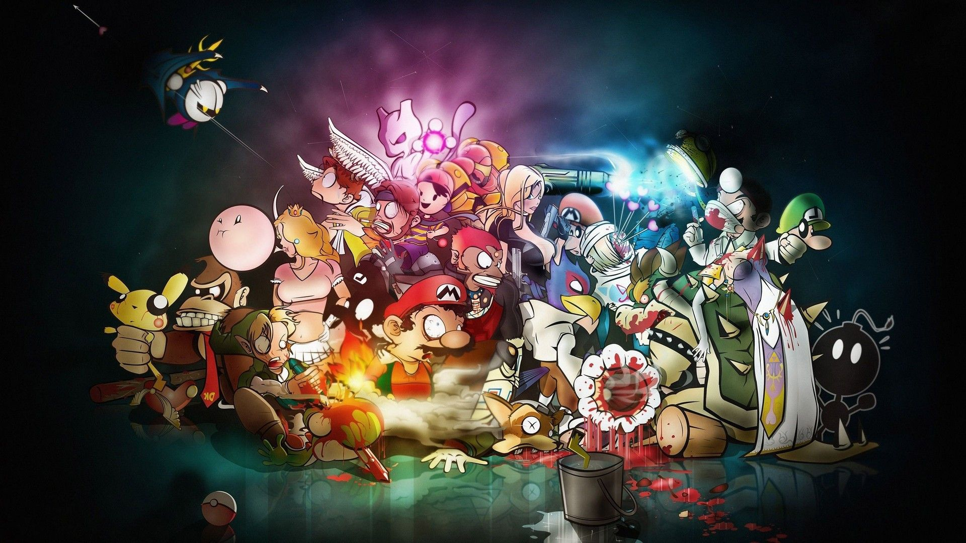 Video Game Wallpaper For Desktop Cartoon Wallpaper Disney