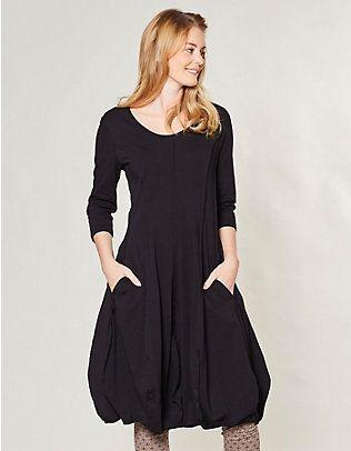 Deerberg Jersey-Kleid Bothilda schwarz | Wunschbrunnen | Pinterest