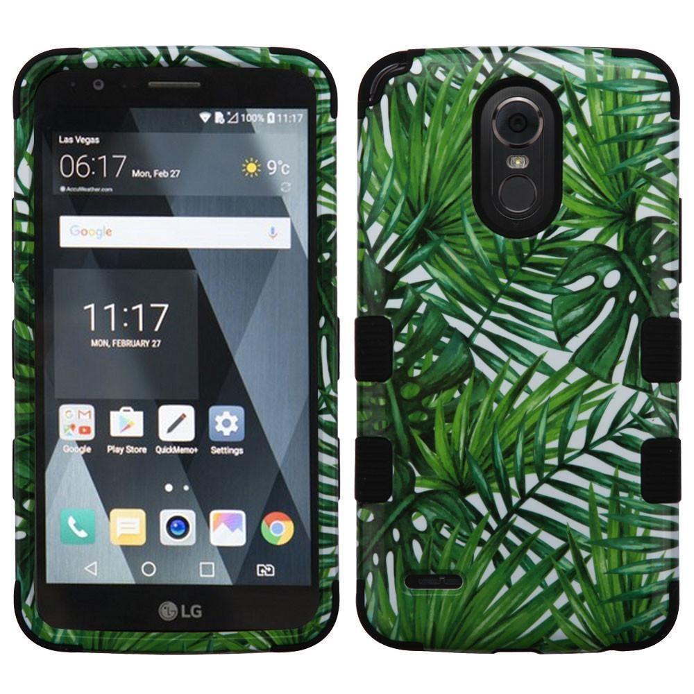 MYBAT TUFF LG Stylo 3 / Stylo 3 Plus Case - Tropical Palms