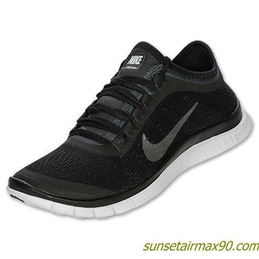 big sale a3d06 43c2a Nike Free 30 V5 Womens Black Metallic Silver Anthracite 580392 001 ...