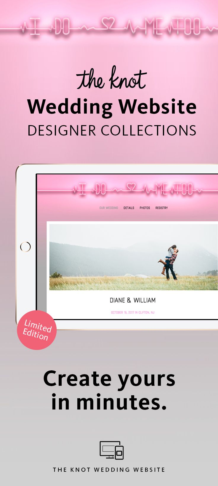The Knot Wedding Website Designer Collection: All-in-One Registry ...
