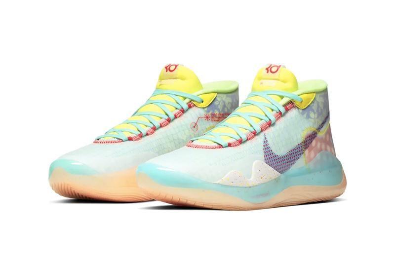 "Nike's Zoom KD12 Gets a Vibrant ""Peach Jam"" Makeover"