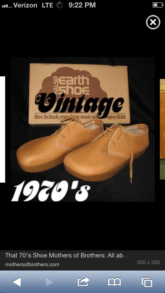 Moon Shoes I Bought In 1975oh Dearwhat Was I Thinking
