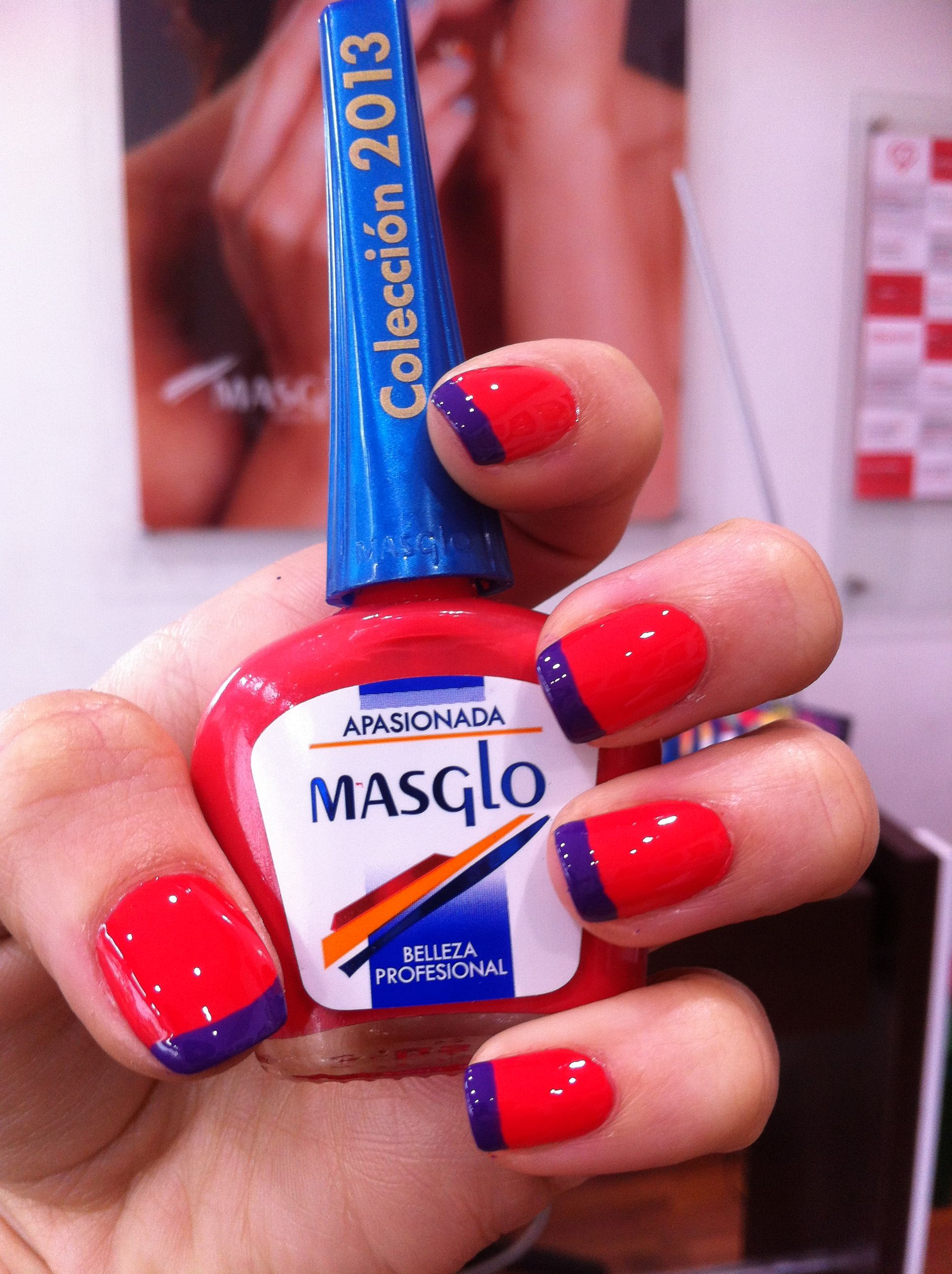 Apasionada de Masglo. | Nails3 | Pinterest | Diseños de uñas y Uñas ...