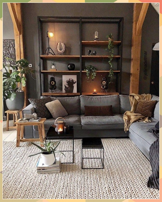 Rustic Living Roomdesign Ideas: Pin By MONIKA SHARMA On Home Decor In 2020