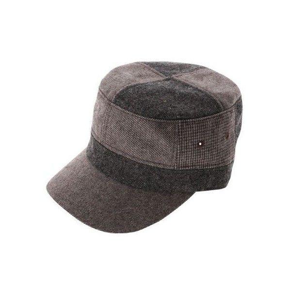 Mens Womens Stylish Designer Military Cap (Z108) ( 30) found on Polyvore febf7fb57c