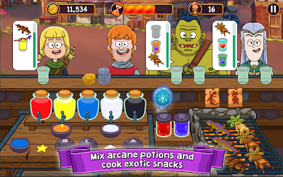 ANDROİD OYUN HİLELERİ İNDİR: Potion Punch ANDROİD OYUN CLUB