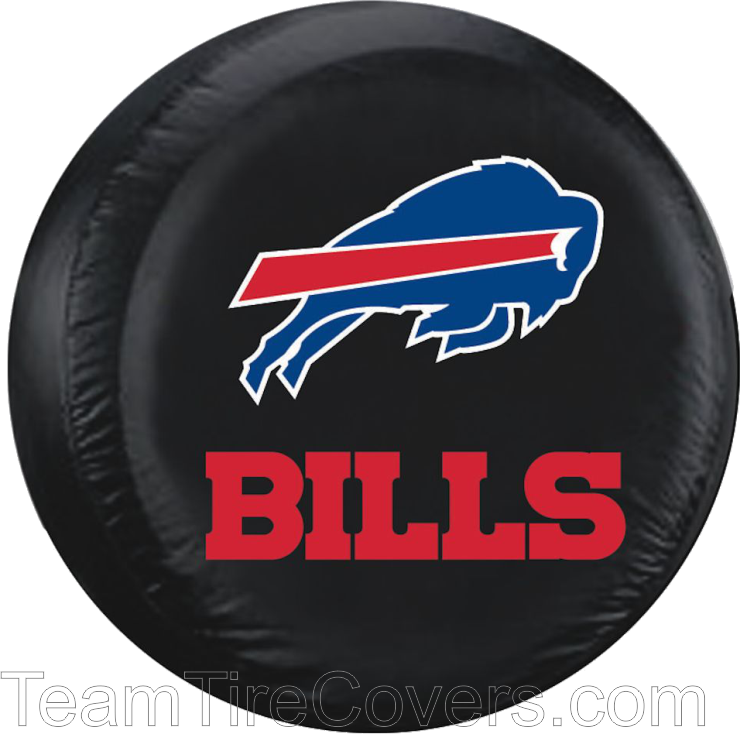 "Buffalo Bills NFL 33""35"" Only Tire Cover Spare tire"