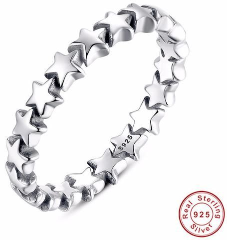 Stackable Ring 100% 925 Sterling Silver |                             Stackable Ring 100% 925 Sterling SilverMetal Stamp: 925,Sterling         | Primary View | Sassy Posh