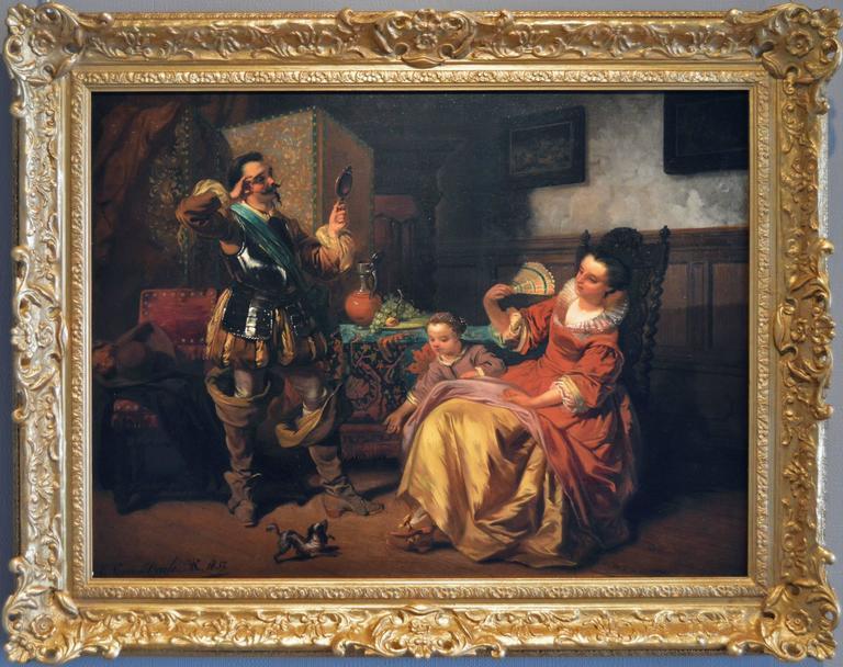 Casimir van den Daele - A Fine Moustache