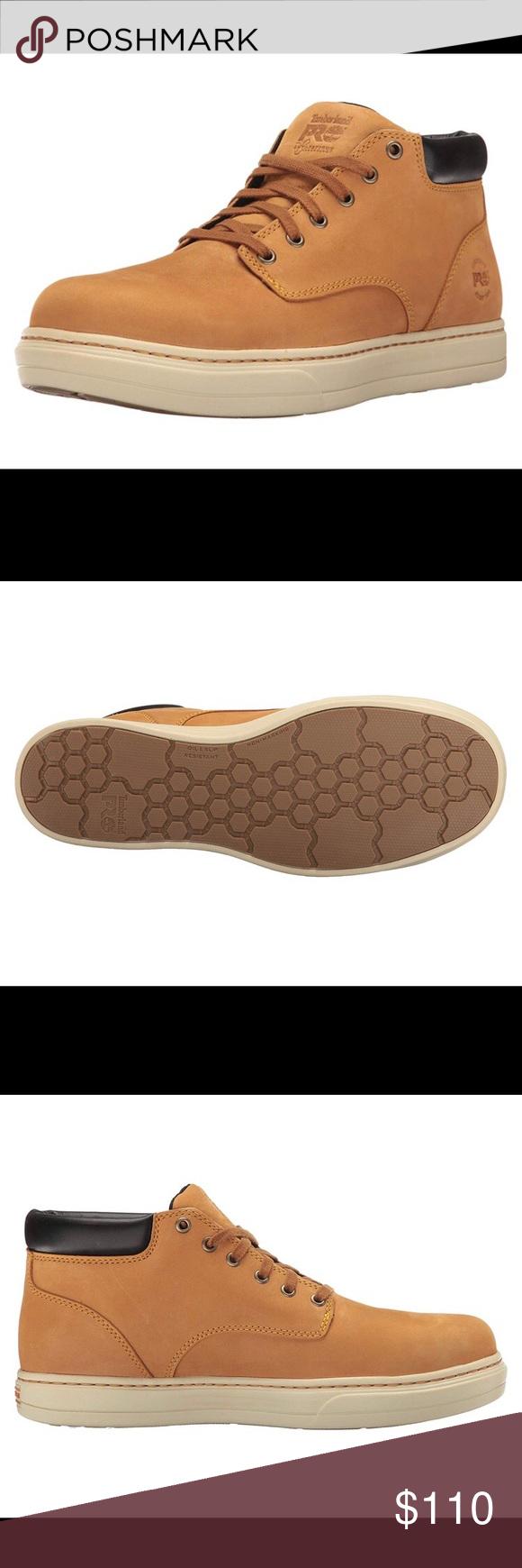Timberland Pro Distributor Chukka Safety Toe Shoe NWT