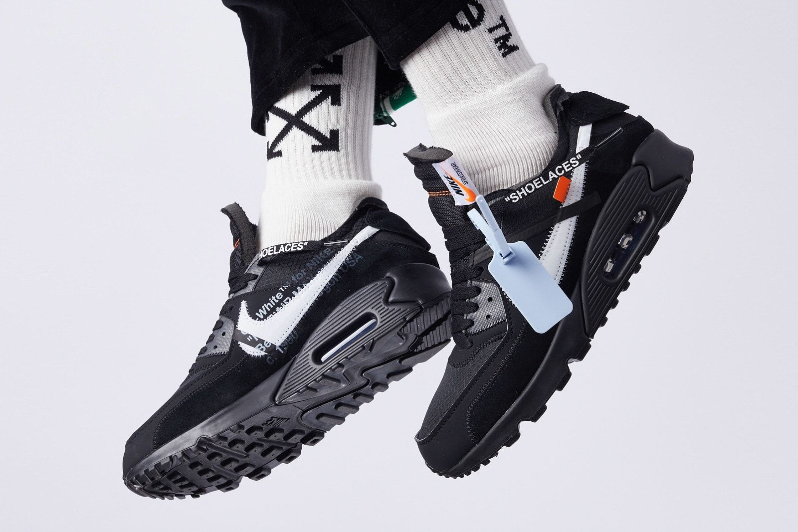 Off White X Nike Air Max 90 In Two Colorways For Spring 2019