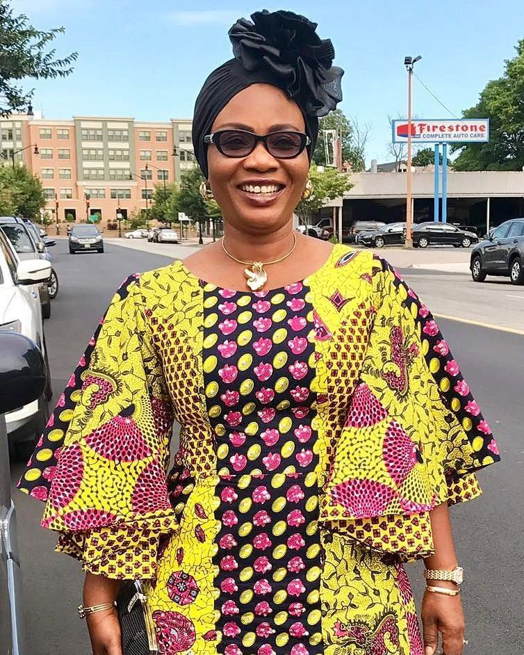 Robe Africaine: Ankara Fabrics Are The In-thing And The First Outfit Idea