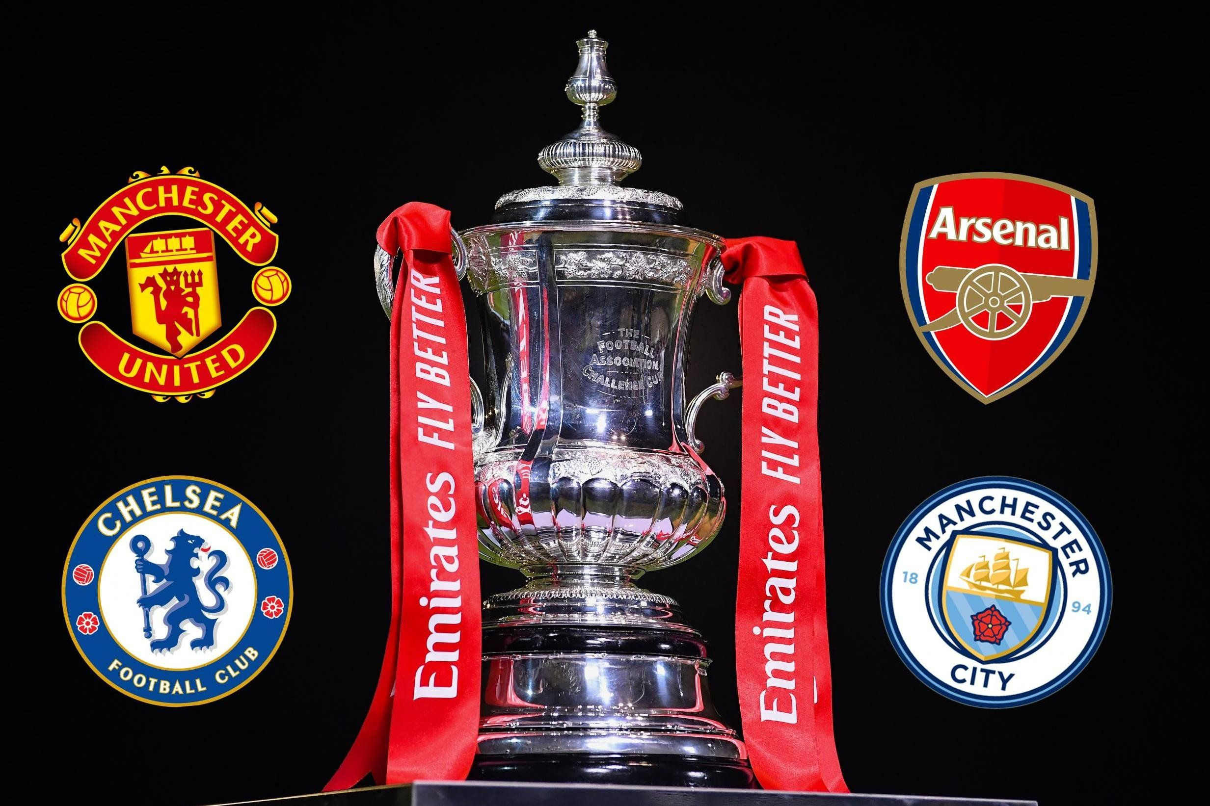 Fa Cup Semi Final Fixtures Arsenal To Take On Manchester City In 2020 Fa Cup Arsenal Manchester City