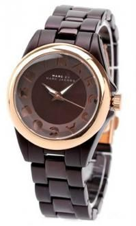Marc Jacobs Classic Brown Stainless Steel Case Brown Dial Gold Bezel by Marc Jacobs | Nyopoly