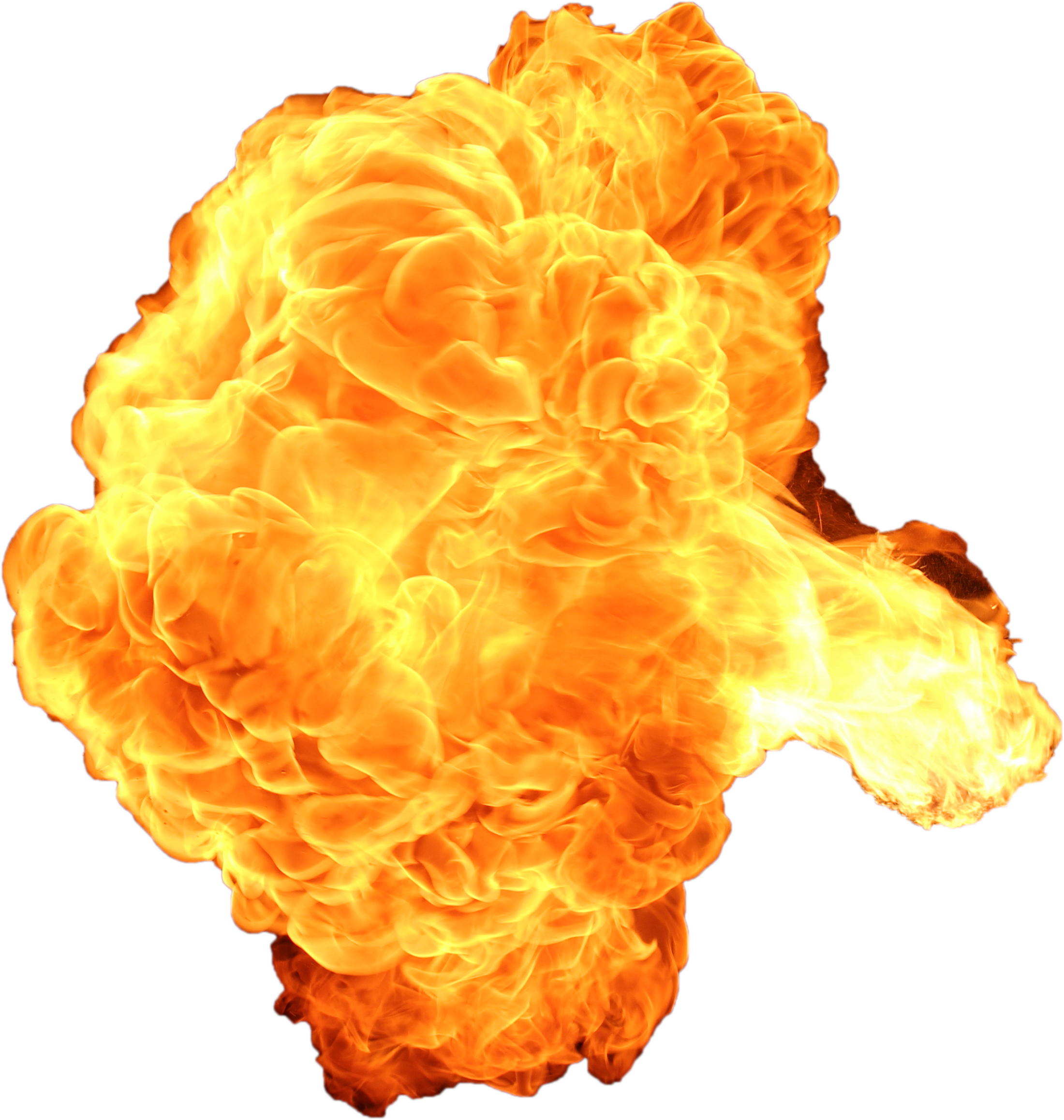 Big Explosion With Fire And Smoke PNG Image Fire