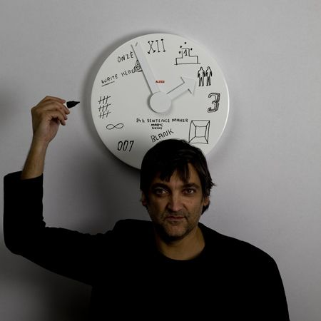 Reloj By Alessi Contemporary Clocks Wall Clock Clock