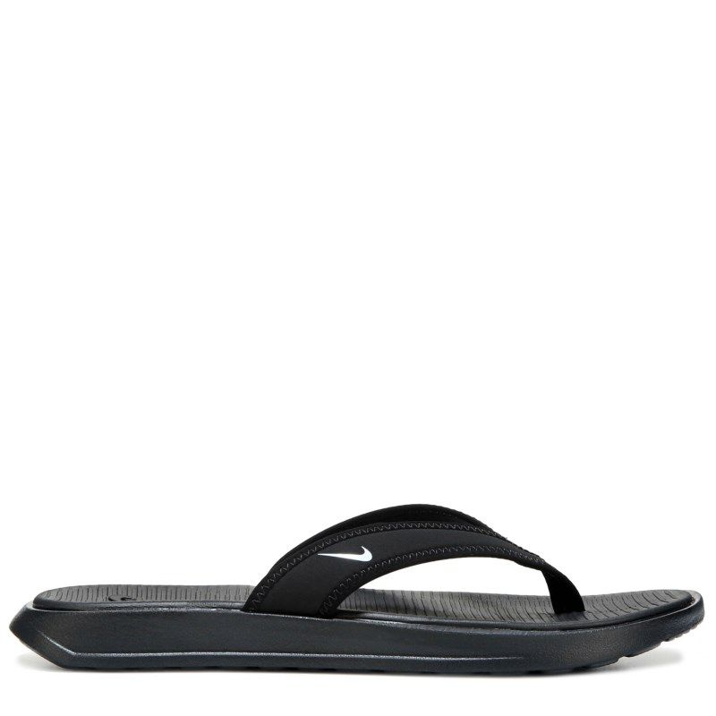 cfb42dd696e6b8 Nike Women s Ultra Celso Thong Sandals (Black White) - 12.0 M