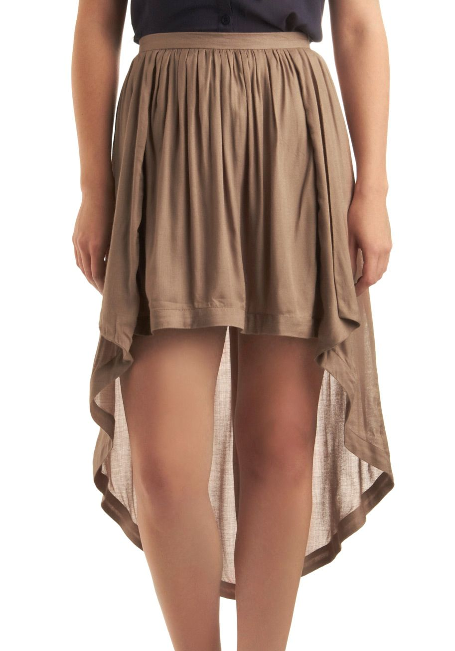 I also desperately need a high-low skirt that I can pull off.
