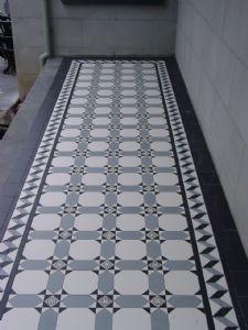 Porch Tile Flooring Tiled Hallway