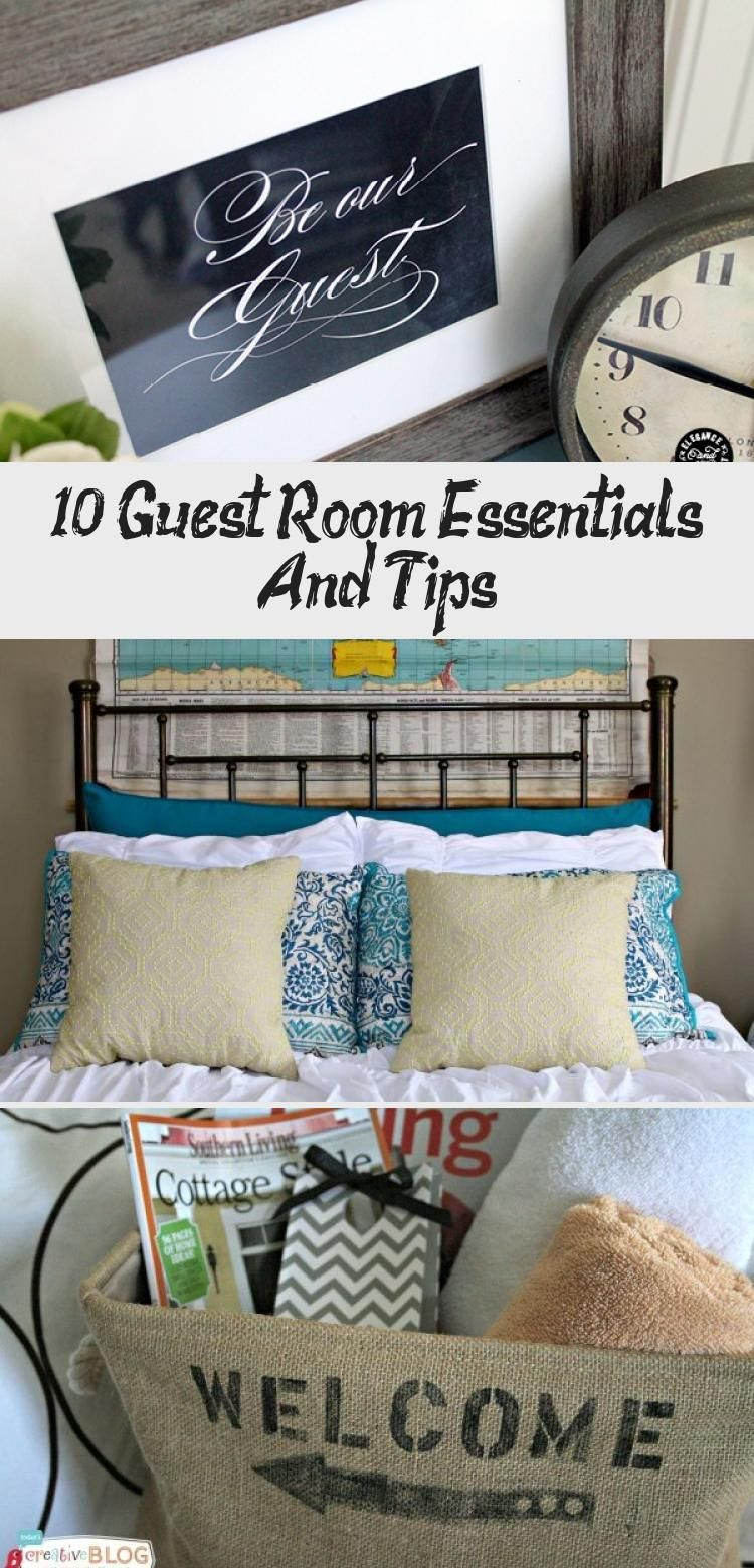 10 Guest Room Essentials And Tips In 2020 With Images Guest Room Essentials Room Essentials Tiny House Decor