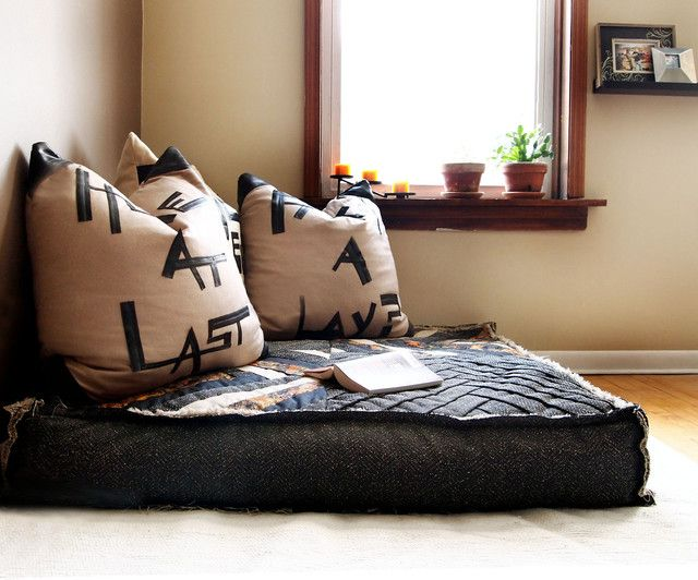Floor Cushion Couch Oversized Floor Pillows Floor Seating