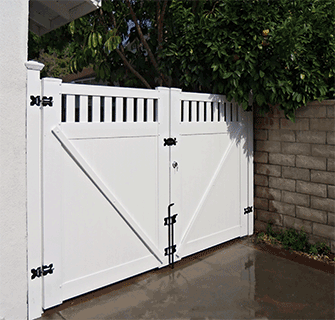 vinyl fence driveway gate. custom driveway gates built to last lifetime warranty vinyl fence depot company gate pinterest