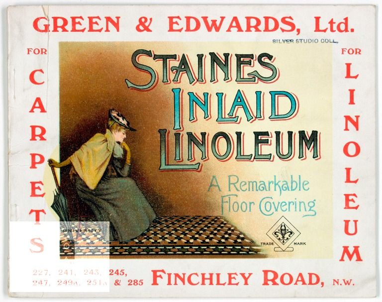 Publication Catalogue Of Staines Inlaid Linoleum