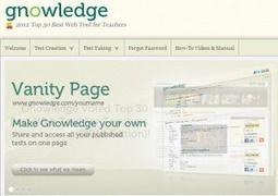 Gnowledge nos permite crear pruebas en línea