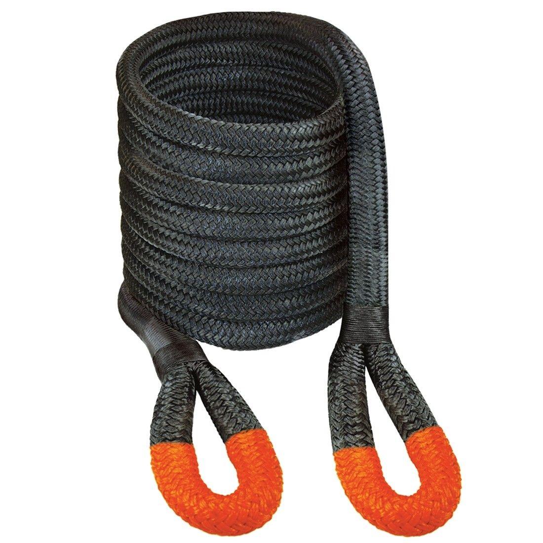 Vulcan Off Road Recovery Rope 1 1 4 X 30 W Orange Eyes 52300 Lbs Breaking Strength Stuck In The Mud Vulcan Rope