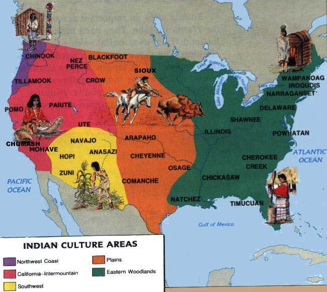 Us Map Before The Tribes Stuff Pinterest Native - Map of us in 1776