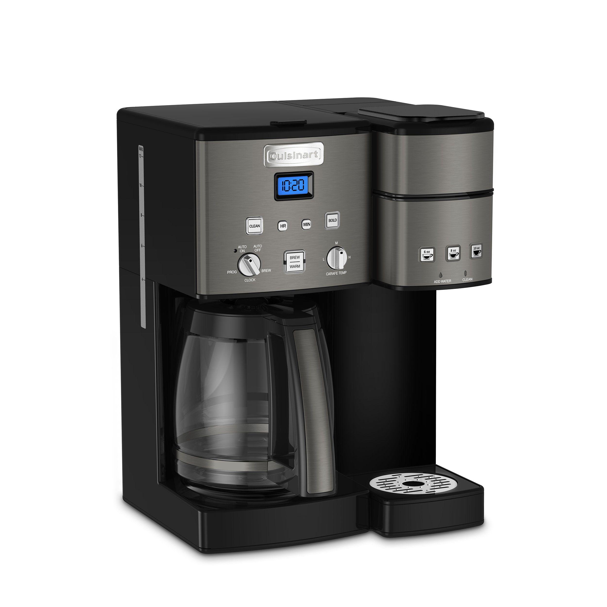 Cuisinart SS15BKS Coffee Center Maker Black Stainless * Be