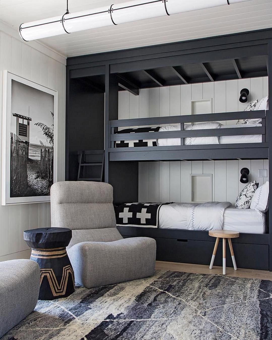 12 Incredible Boy Bedroom Decoration Ideas With Built In Beds Decorits Bunk Beds Built In Bunk Bed Rooms Bunk Bed Designs