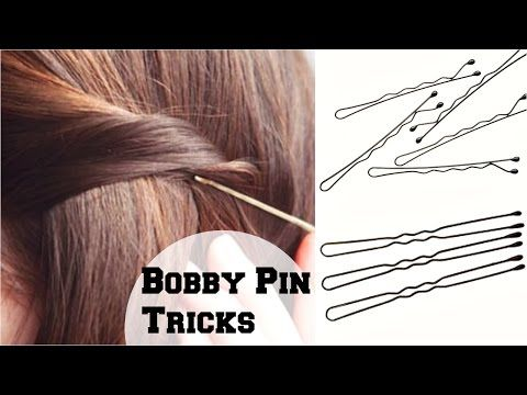 Hairstyles That Will Have You Thanking Your Bobby Pins Bobby Pin Hairstyles Easy Hairstyles Hair Styles