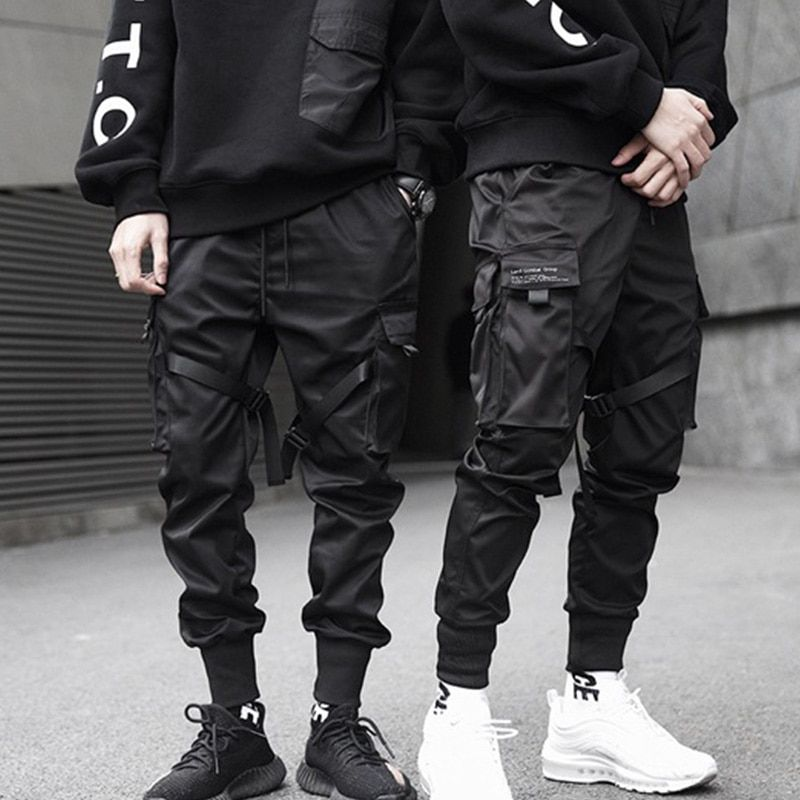 Billig Cargo Hosenkaufen Sie Direkt Vom Lieferanten In China Neue Hip Hop Jungen Multi Tasche Pantalones De Hombre Moda Ropa De Moda Hombre Ropa Urbana Hombre