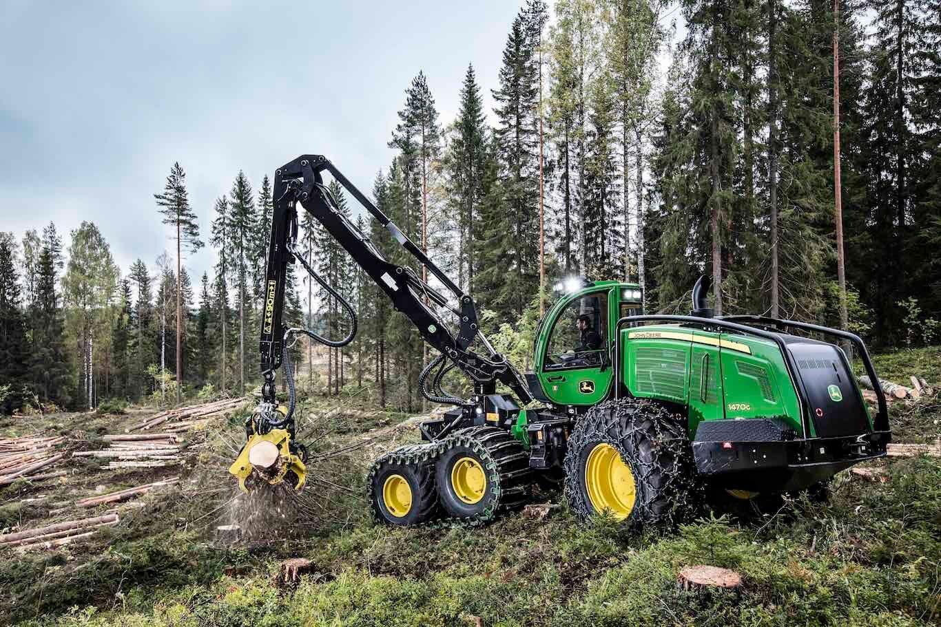 Pin auf Forestry machines