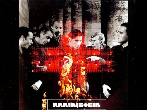 Rammstein Fire By Felcie Rammstein Fire Painting