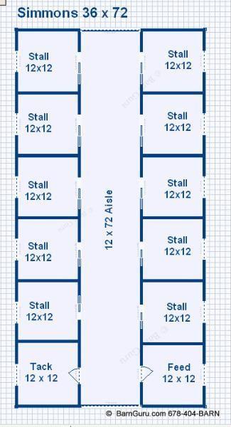 10 stall horse barn design floor plan georgia horse barn builder buy plans - Horse Barn Design Ideas