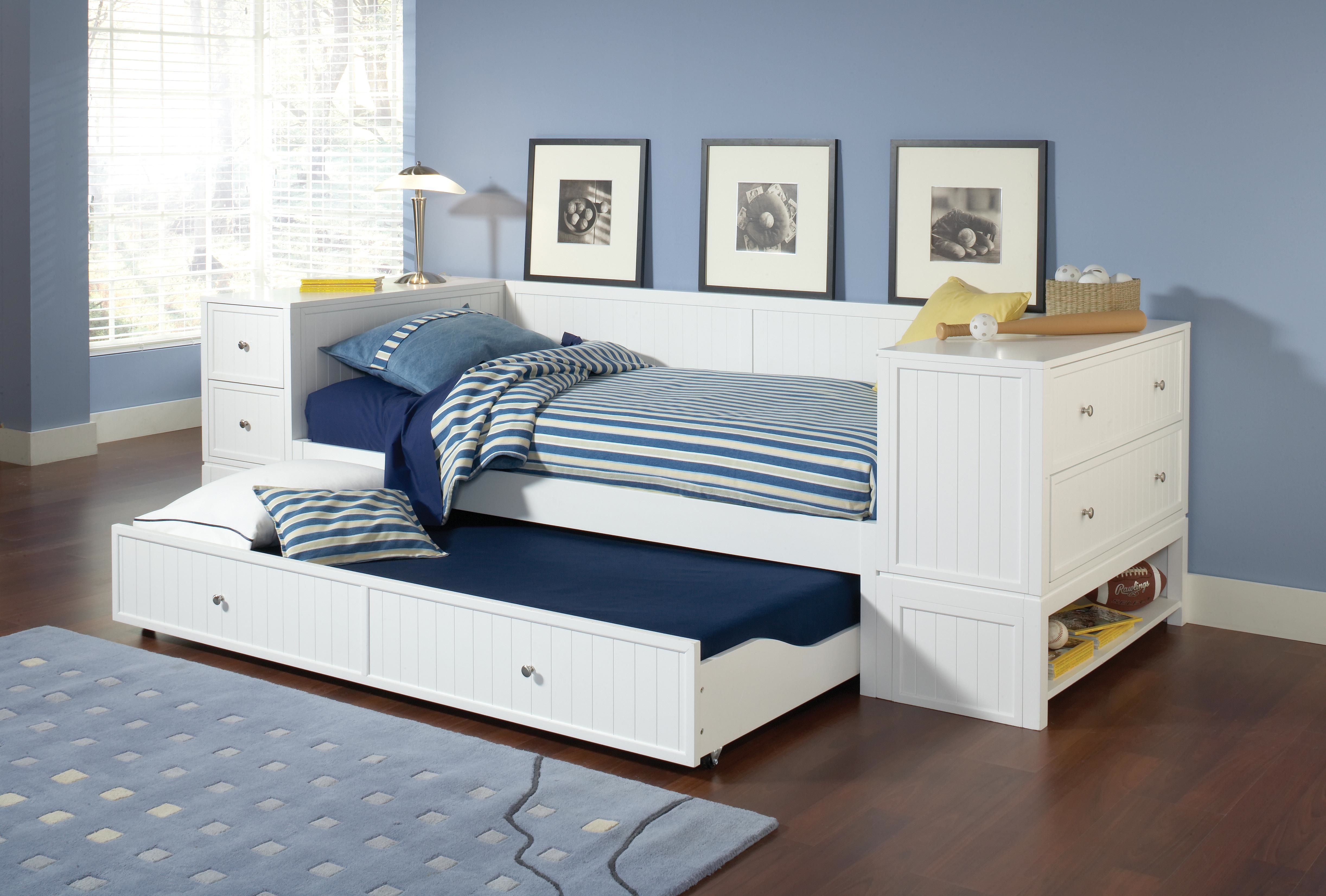 Daybed With Bookcase Headboard Twin Or