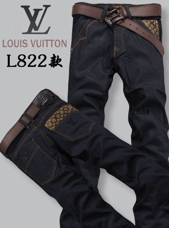 cbb844f0 Louis Vuitton men jeans-LV16215E   get it rite   Louis vuitton men ...