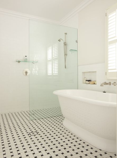These Are My Floor Tiles Sunny Master Bathroom Design With Soft