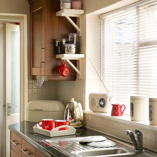 Metallschrank Küche   Selbstgebautes Eckregal Kuche Schrank Gewurze Basteln Fur