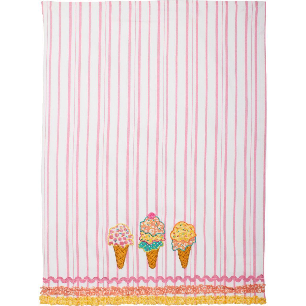 Ice Cream Vintage Inspired Kitchen Towel | Sur La Table