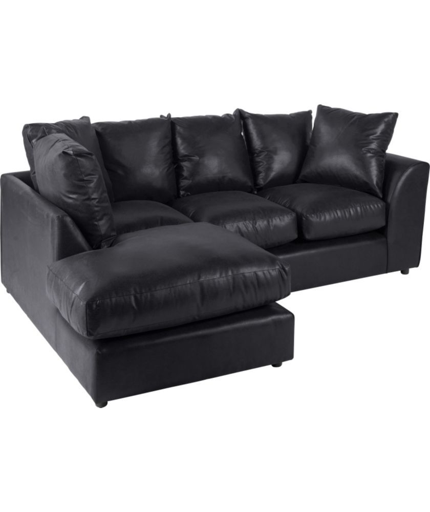 Alfie Left Hand Corner Sofa Group Black At Argos Co Uk