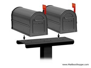 mailbox posts metal. Multiple Mailbox Posts Include Spreaders For Up To 5 Mailboxes Metal