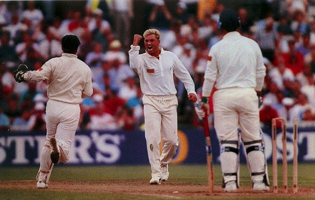 A Turn For The Better Twenty Years Ago This Week Shane Warne Bowled At Mike Gatting And Cricket Was Changed For Ever Cricket Shane Warne Sports Personality