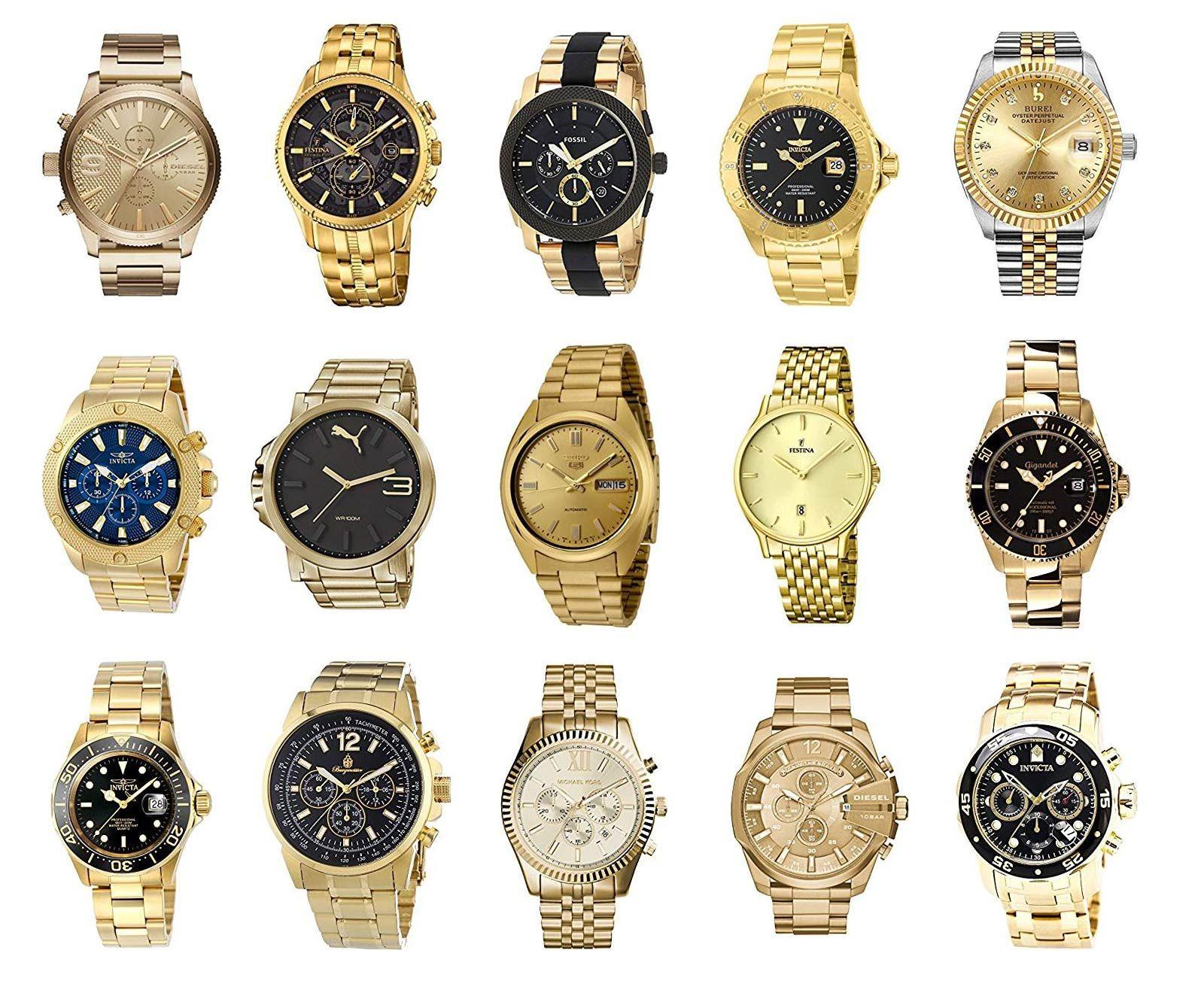 Herrenuhren Gold Die Besten Goldenen Armbanduhren Fur Manner Uhren Herren Goldene Armbanduhr Herrenuhren
