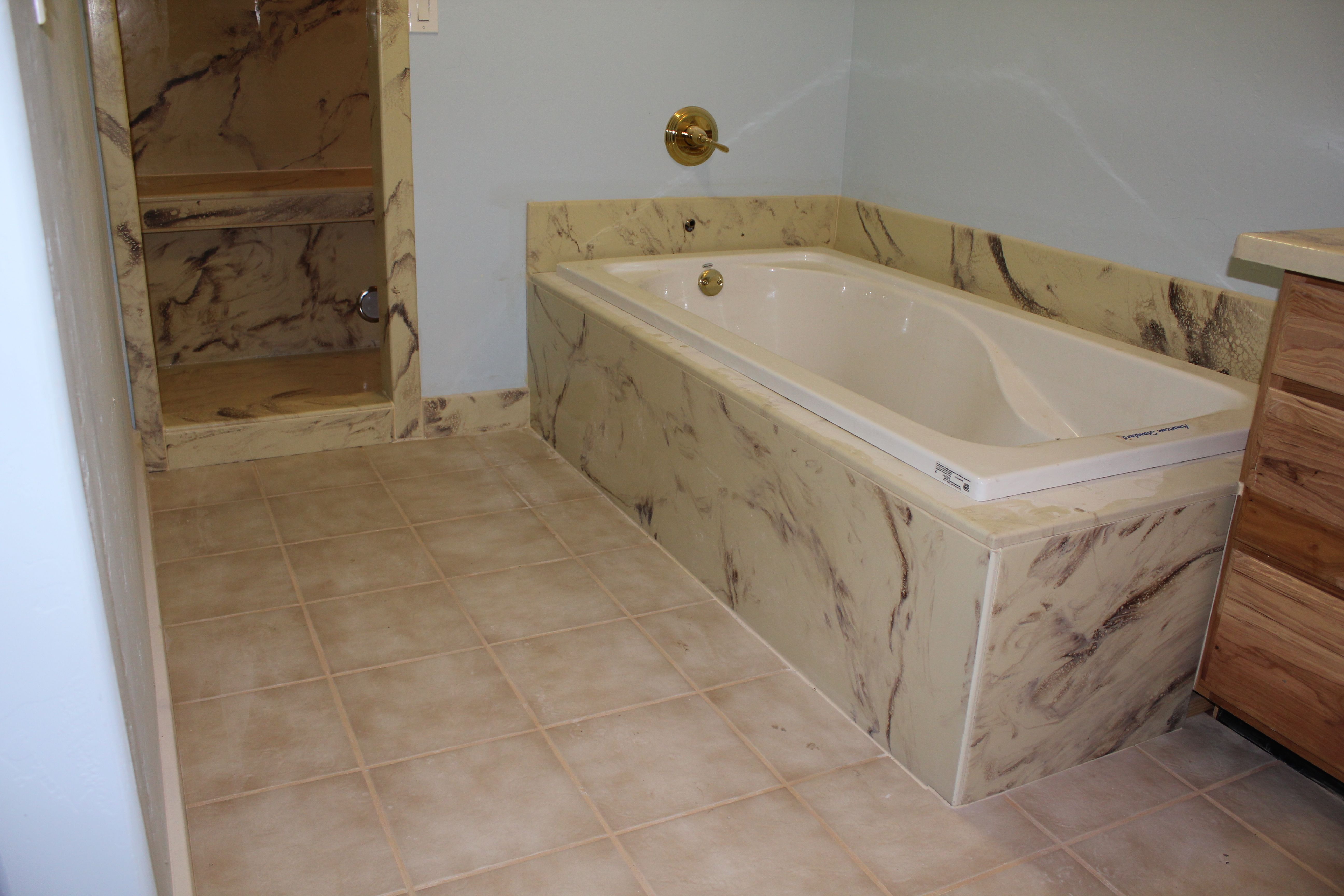 Tub Surround Walk In Shower Purchase At Countertopepoxy Com Diy Countertops Refinish Countertops Shower
