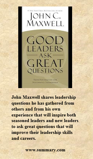qualities of a good leader by john maxwell