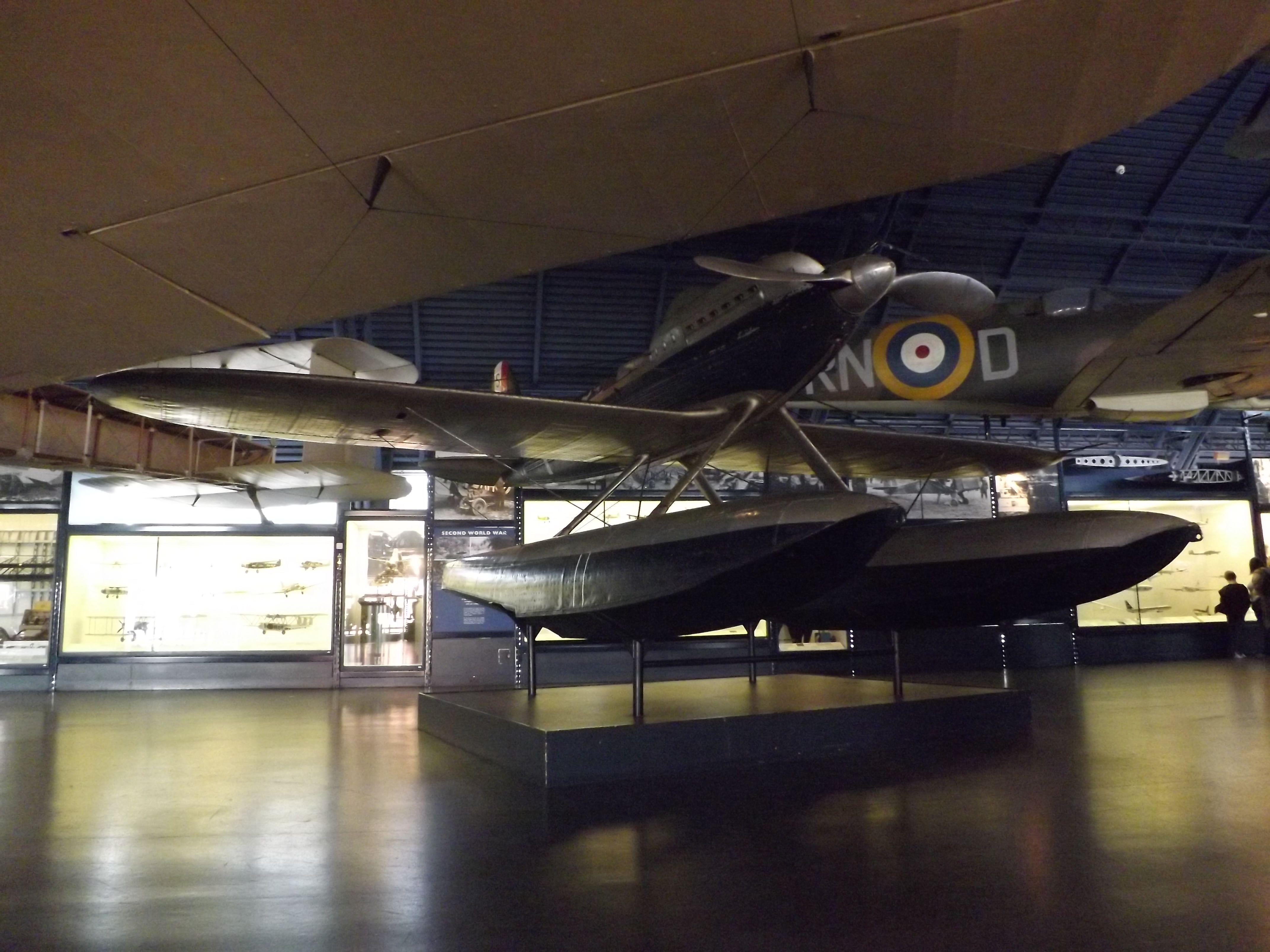 Supermarine S6B - Science Museum London